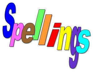 Learning at home - spelling and website links